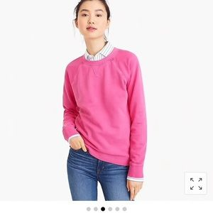 Jcrew garment dyed sweatshirt